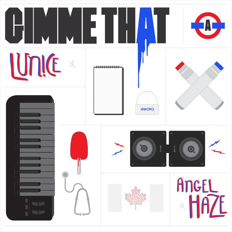"""angelhaze & lunice """"Gimme That"""""""